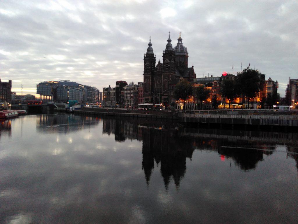 Amsterdam le matin